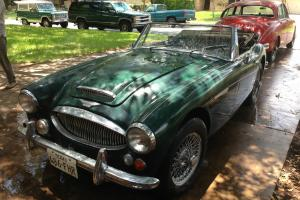 1967 AUSTIN HEALEY 3000 ROADSTER, PULLED FROM 27 YEARS IN A TEXAS GARAGE