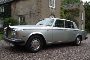 1980 ROLLS ROYCE SILVER SHADOW 2 in SILVER