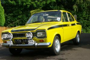 1971 FORD ESCORT mk 1 1300 GT YELLOW