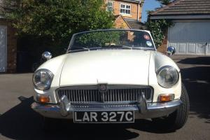 1965 MkI MGB Roadster - New Engine, clutch and gearbox with overdrive Photo