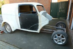 1953 Ford Anglia/Fordson Van Hot Rod Custom Project Rare Extended Body
