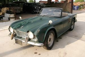 TRIUMPH TR4 1964 LHD  Photo
