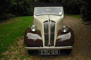1946 STANDARD TRIUMPH 8 Tourer CREAM  Photo