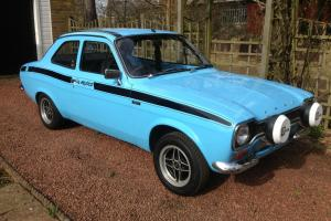 19774 FORD ESCORT MK1 MEXICO BLUE  Photo