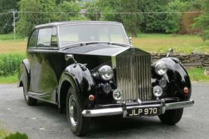 1947 Rolls-Royce Silver Wraith James Young Two Door Saloon WTA79