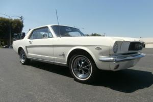 Ford Mustang 1966 2D Hardtop 3 SP Automatic 4 7L Carb in Melbourne, VIC