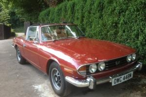 Triumph Stag 3.0 V8 1974  Photo