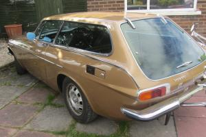 Classic and Original 1973 Volvo 1800 ES Damaged but with Full History, Tidy Car