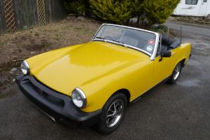 1979 MG MIDGET 1500 YELLOW