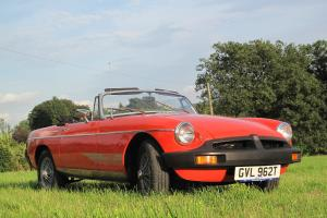 1979 MGB MG B ROADSTER ORANGE 12 MONTHS MOT WITH TAX WONDERFUL CAR  Photo