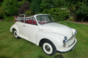 MORRIS MINOR 1000 Convertible Old English White