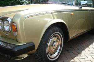 ROLLS ROYCE SHADOW II 1981 WILLOW GOLD NEW MOT IMMACULATE MAY PX FOR VW CAMPER  Photo