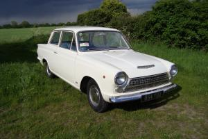 FORD CORTINA CONSUL CORTINA MK1 PRE AIRFLOW ONE OWNER FROM NEW NEVER WELDED LHD