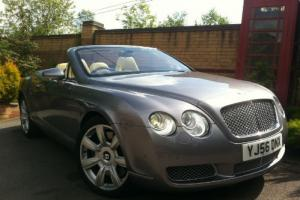 2007 MY Bentley Continental GTC Convertible Silver Tempest