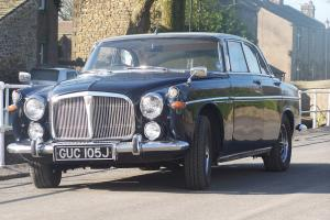 ROVER P5B COUPE FITTED WITH 4.6 LITER RANGE ROVER ENGINE