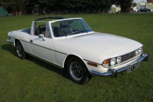 1972 TRIUMPH STAG. TAX EXEMPT EXCELLENT CONDITION.