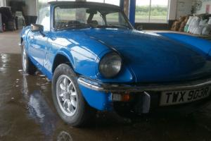 1977 Triumph Spitfire Sports/Convertible 1493cc Petrol  Photo