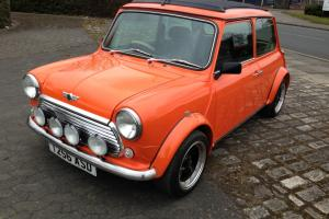 1999 ROVER MINI COOPER SPORTSPACK ORANGE ONE OFF RUST FREE 46000 MILES