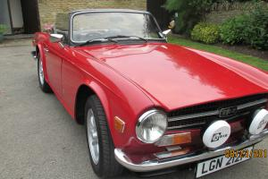Triumph TR6 1975  Photo