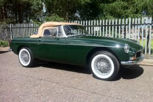 MGB Roadster - Restored - Wire Wheels, British Racing Green  Photo