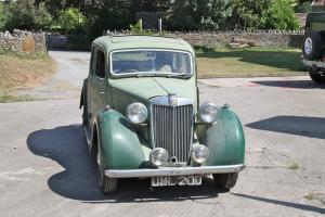 MG YA Sports saloon XPAG 1250 ,1948 Barn find.