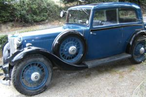 Armstrong Siddeley 17hp Sports Foursome. 1934