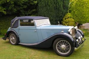 1938 MG VA TICKFORD DROP HEAD COUPE, CHERISHED TROPHY WINNER, VSCC ELIGIBLE