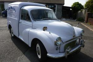Classic Car Morris Minor Van