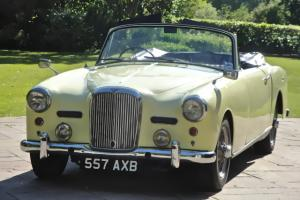 ALVIS TD21 ORIGINAL MATCHING NUMBERS CONVERTIBLE LAST OWNER 40 YEARS VERY RARE