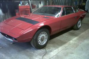 Maserati khamsin RHD. Auto may px why car looks a 100 o/o better up close  for Sale