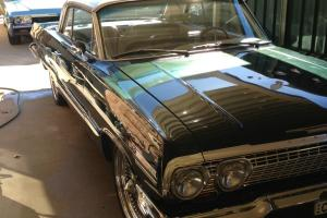 Chevrolet Impala 1963 2D Hardtop Chev Holden Drag Lowrider Project CAR in Sydney, NSW