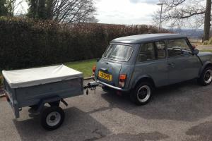1987 AUSTIN MINI CITY AUTO - Excellent recent refurb, WITH Tow Bar and Trailer