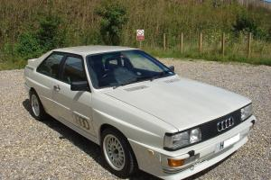 1991 AUDI QUATTRO TURBO WHITE LOW MILES OUTSTANDING