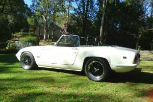 Lotus Elan S4 1969 2D Drophead Coupe 1 6L Twin Carb in Sydney, NSW