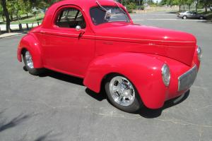 Outlaw Willys Coupe, Street and performance injected 502,h brodix aluminum heads