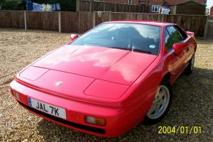 LOTUS ESPRIT 1989 CALYPSO RED