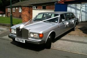 1983 ROLLS ROYCE SILVER SPIRIT LIMOUSINE HEARSE  Photo
