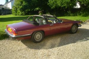 1985 JAGUAR XJS HE AUTO RED