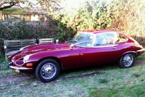 1970 JAGUAR V12 E Type Series 111 RED  Photo