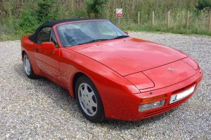 1992 PORSCHE 944 TURBO CABRIOLET ONE OWNER 27000 MILES  Photo