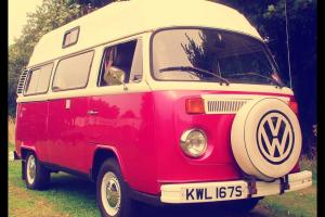 Stunning Retro California Styled Volkswagen Bay Window Camper. All Living Equip