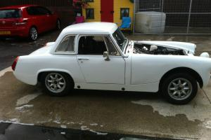1980 MG MIDGET 1500 WHITE race/ rally car