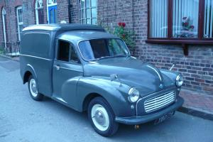 1961 MORRIS MINOR GREY VAN