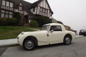 1960 Austin Healey Bugeye Sprite -California rust free survivor