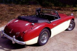 1962 Austin Healey BJ 7 3000 MK 2 Photo