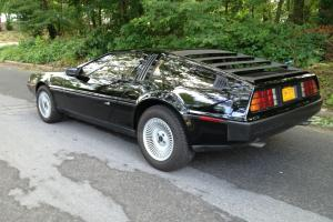 1983 Delorean, Black, Low Mileage 5 speed
