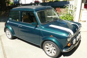 Restored, rebodied 1963 Mini Cooper, only 8,000 miles since restoration