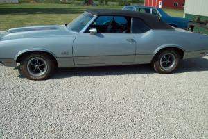 1971 OLDSMOBILE 442 W30 CONV NUMBERS MATCHING
