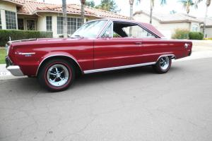 1967 PLYMOUTH GTX REAL DEAL 4 SPEED TRAC PAK CAR