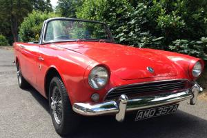 SUNBEAM ALPINE SERIES 3 LONG MOT AND TAX